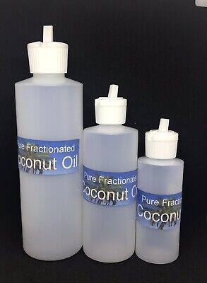 FRACTIONATED  COCONUT OIL 100% PURE CARRIER OIL FOR SKIN MASSAGE HEALTHY (Coconut Oil For Massage)