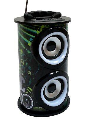 MOBILE BLUETOOTH SOUNDBOX - SCHWARZ, LAUTSPRECHER, RADIO FM-AUX-USB-SD-MP3-DOSE4 Mobile Usb Bluetooth