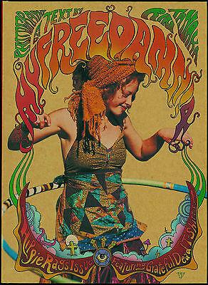 My Freedamn! 4 Hippie Fashion Grateful Dead shirt East West North Beach leather