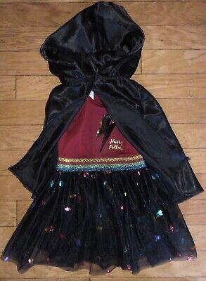 Harry Potter Girls XS S M 4 5 6 6X 7 8 Dress & Cape Outfit Set Shirt Skirt](Cape Girls)