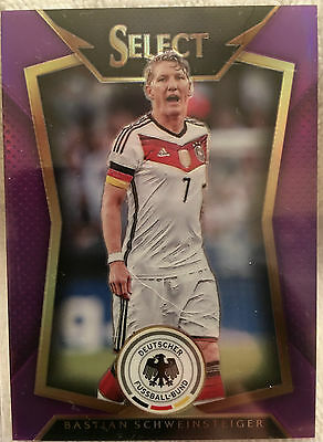 2015 Panini Select Soccer  Sabastian Schweinsteiger  Purple Prizm  47 99 Germany