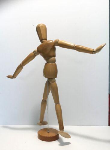 ARTISTS WOODEN HUMAN MANNEQUIN