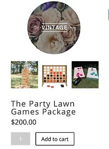 Party lawn games package Drummoyne Canada Bay Area Preview