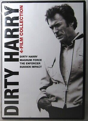 DIRTY HARRY COLLECTION DVD (Magnum Force/The Enforcer/Sudden Impact) >NEW<