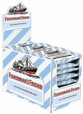 Fishermans Friend Pastillen ((1000g=33,32€) Fishermans Friend Eucalyptus ohne Zucker - 24 Beutel - Pastillen)