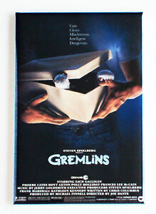 Gremlins-FRIDGE-MAGNET-movie-poster
