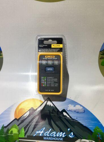 *NEW* Sealed Fluke ST120 GFCI Socket Tester - Fast SHIPPING!