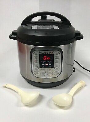 Instant Pot IP-DUO60 v3 6 Qt 7-In-1 Multi-Use Programmable Pressure Cooker