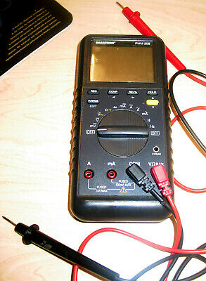 Dagatron Pmm 208 Digital Multimeter With Probes Works Great