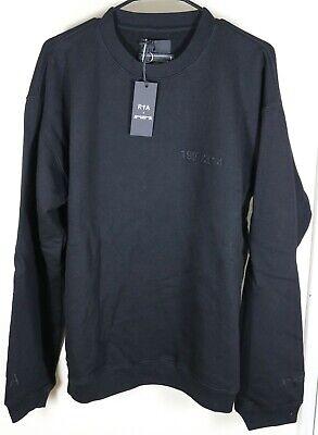 RTA x Mastermind World Embroidered Black Sweatshirt Size Medium Road to Awe New