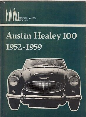 AUSTIN HEALEY 100/4 & 100/6 ( 1952 - 1959 ) PERIOD ROAD TESTS BOOK