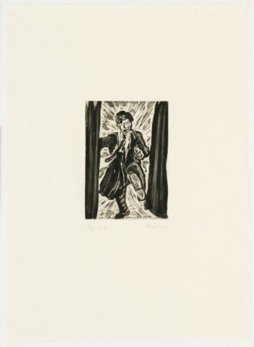 Richard Bosman : Forced Entry, 1983. Signed, Numbered, Fine Art Print