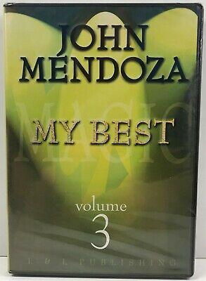 My Best - Volume 3 by John Mendoza - DVD - Learn Magician Magic Card Tricks