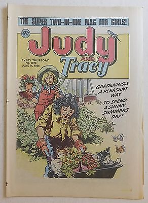 JUDY & TRACY Comic #1379 - 14th June 1986