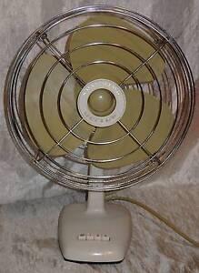 Vintage Retro Oscillating Warner Drayton 3 Speed Fan South Windsor Hawkesbury Area Preview