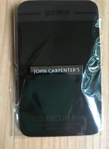 John Carpenter enamel pin The Thing Prince of Darkness Escape from New York Fog