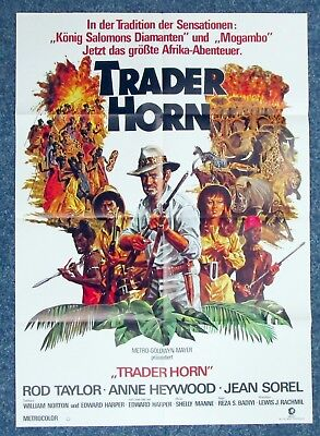 Trader Horn - Anne Heywood - A1 Filmposter Plakat (K-568