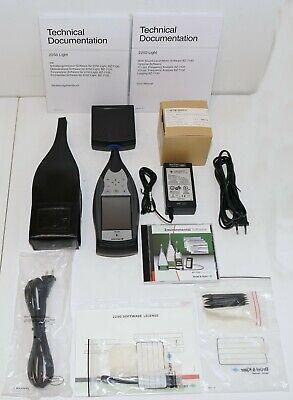 Bruel Kjaer Bk 2250 Sound Level Meter Analyzer W 4950 Mic Bz130 Bz131 Bz132