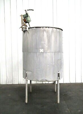 Mo-3049 Stainless Steel 565 Gallon Insulated Mixing Tank