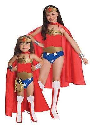 Wonder Woman Deluxe Child Costume Marvel Superhero Heroine Theme Party Halloween - Kids Wonder Woman Halloween Costume Deluxe
