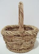 Small Wicker Baskets with Handles