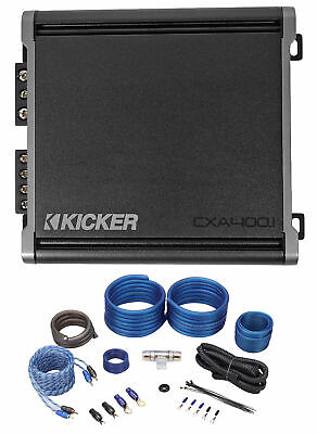 KICKER 46CXA4001T CXA400.1 400 Watt Mono klasse D bilstærkforstærker + forstærker
