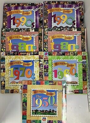 United States Postal Service Take A Field Trip Through The Decades Lot of 7