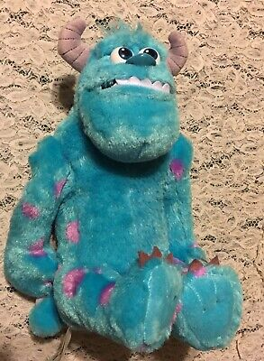 DISNEY SULLEY SULLIVAN MONSTER INC GROWLING AND TALKING PLUSH FIGURE BATTERY-OP