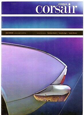 Ford Consul Corsair 1500 1963-65 UK Market Sales Brochure Standard De Luxe