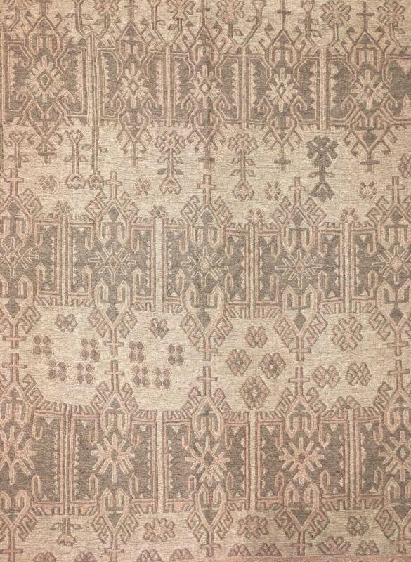 Special Sumak - 1960s Antique Kilim Rug - Afghan Tribal Flatweave - 6.8 X 8.8 Ft