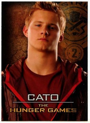 Cato #9 The Hunger Games 2012 Neca Trade Card (C1498) Hunger Games Cato