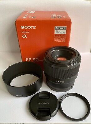 Sony FE 50 mm F/1.8 FE for Sony - Black, In Mint Condition