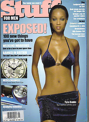 Tyra Banks Uk Stuff Magazine 1 99 Exposed