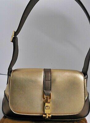Gucci Metallic Leather Jackie O Hobo Mini Hobo Shoulder Bag