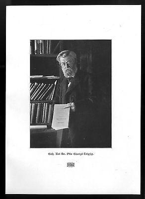Geh. Rat Dr. Otto Georgi 1.Oberbürgermeister der Stadt Leipzig Kunstdruck v.1906