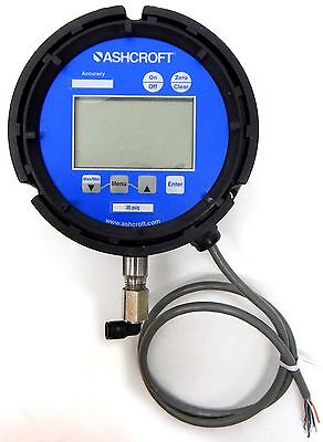 "Ashcroft 2274 Digital Pressure Gauge 4½"" 0-30 psi 452274SD02L30 A0ENU1"
