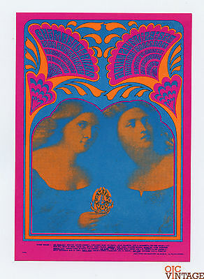 Family Dog 59 Bobbsey Twins Postcard Chamber Brothers Iron Butterfly 1967 Apr28