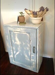 Vintage Timber Wall Cabinet Goombungee Toowoomba Surrounds Preview