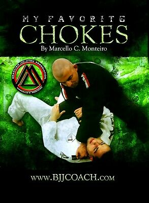 Favorite Chokes BJJ Instructional Jiu Jitsu  DVD