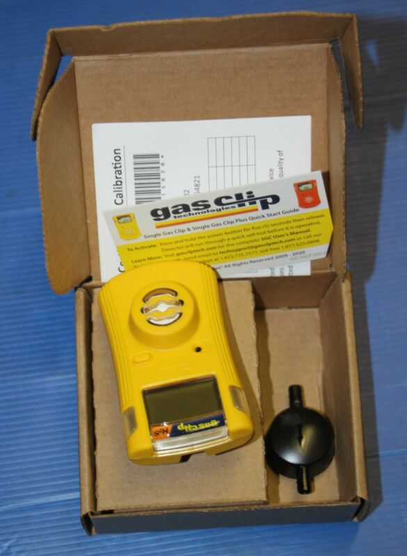 BRAND NEW Gas Clip SGC-H Personal Single Gas H2S Detector