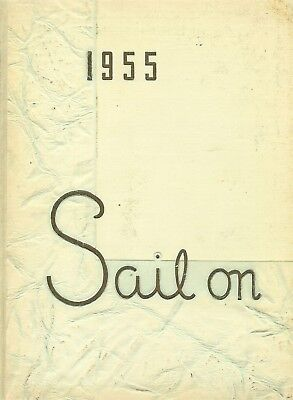 Yearbook Gaithersburg Maryland MD Gaithersburg High School Sail On 1955