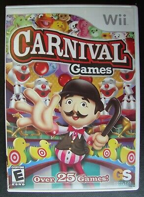 CARNIVAL GAMES NINTENDO WII GAME