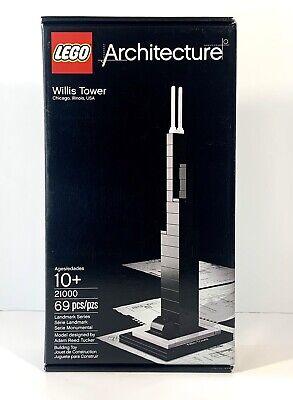 """LEGO Architecture """"Willis Tower"""" (21000) 69 pcs/pzs *complete*"""
