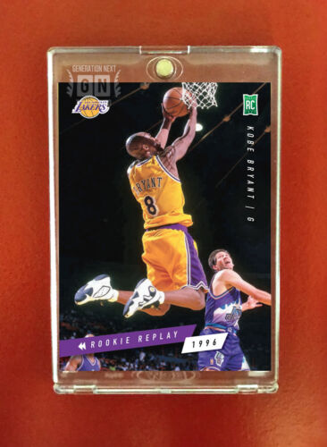 Kobe Bryant  / LA Lakers RC / Rookie Replay 1996 / Generation Next