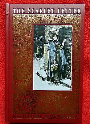 THE SCARLET LETTER ~ DELUXE HISTORICAL REPRINT ~ GOLD EDGED! ~ BRAND NEW!