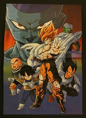 1993 Dragon Ball DOUBLE-SIDED POSTER (2 posters in 1) #058 Spanish vintage - Posters In Spanish