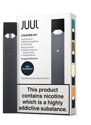 Juul starter Kit With 4 Different Flavour Pods