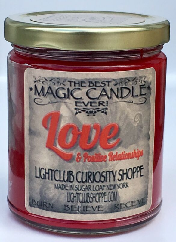 Love's Magic Spell Candle for Love & Attraction - Attract or Heighten Love !
