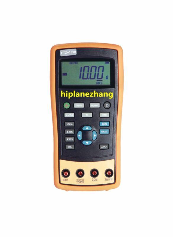 Hi-accuracy 0.02% Thermocouple RTD Temperature Calibrator 8TC 4RTD Source 2010