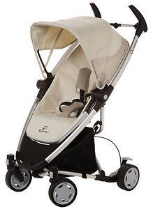 Quinny-Zapp-Xtra-Ultra-Compact-Fold-w-Seat-Baby-Stroller-Natural-Mavis-NEW-MODEL